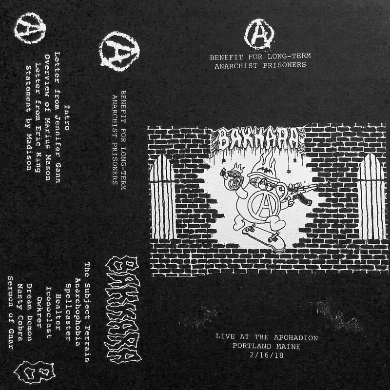 Bakkara - A Benefit For Long-Term Anarchist Prisoners