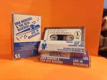 Erik Nervous & The Beta Blockers - Live In Rehearsal (Tour Tape '18)