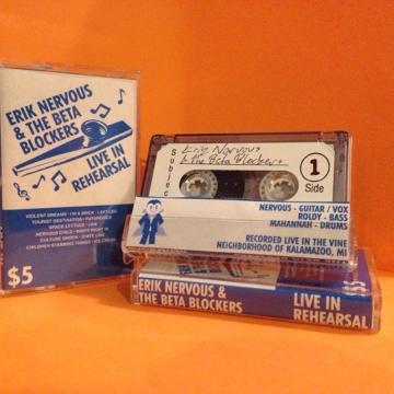 Erik Nervous & The Beta Blockers - Live In Rehearsal (Tour Tape '18)