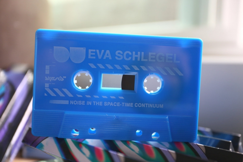 Eva Schlegel - Noise In The Space-Time Continuum