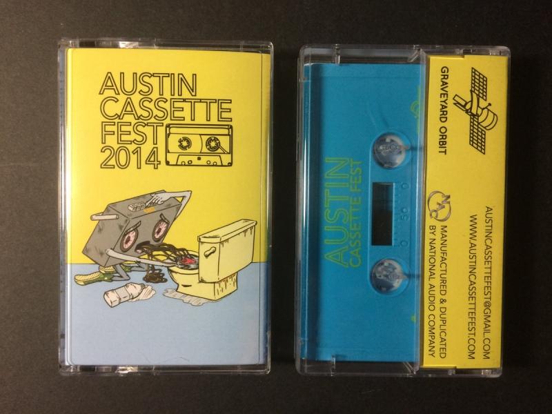 Graveyard Orbit -Austin Cassette Fest Compilation 2014