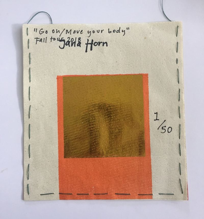 Jana Horn -Go On / Move Your Body - Fall Tour Tape