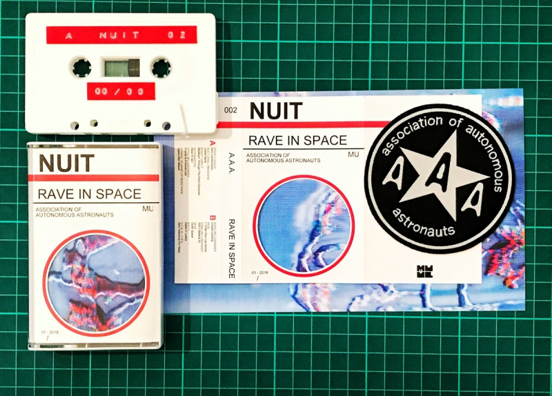 Nuit - Audio Sci Fi Series - Nr. 002 - Rave In Space - Associazione Astronauti Autonomi