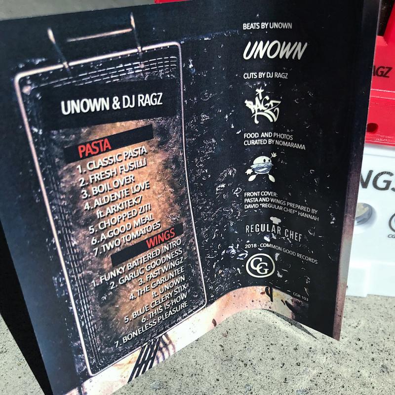 Unown & Dj Ragz - Pasta & Wings