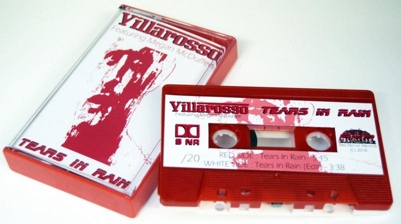 Villarosso - Tears In Rain (Feat. Megan Mcduffee)