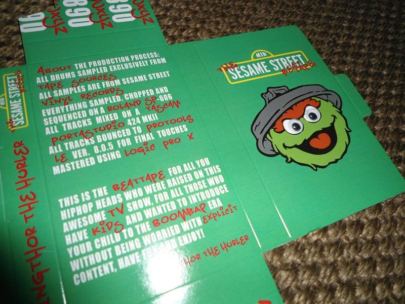 Vingthor The Hurler - The Sesame Street Beat Tape